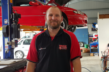 Wrack Auto - Workshop team Mark