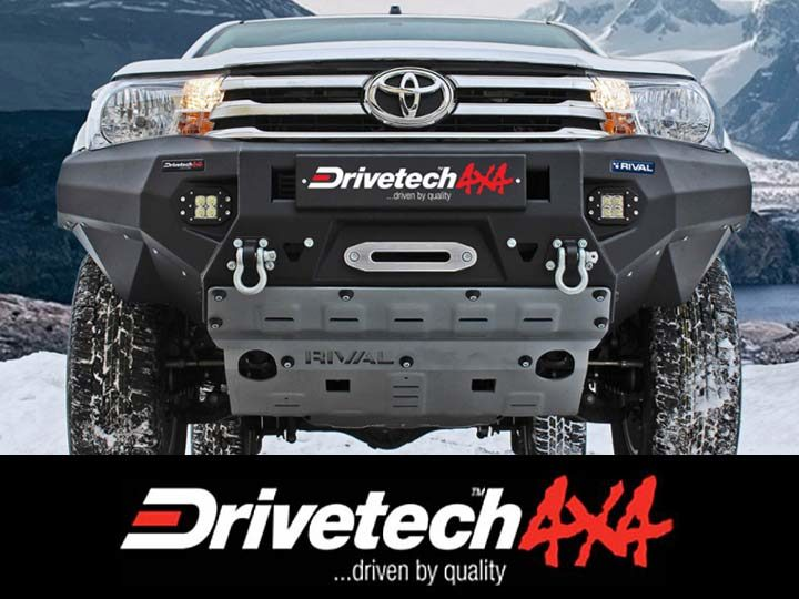 Image of Drivetech 4x4 Rival Alloy Bumper